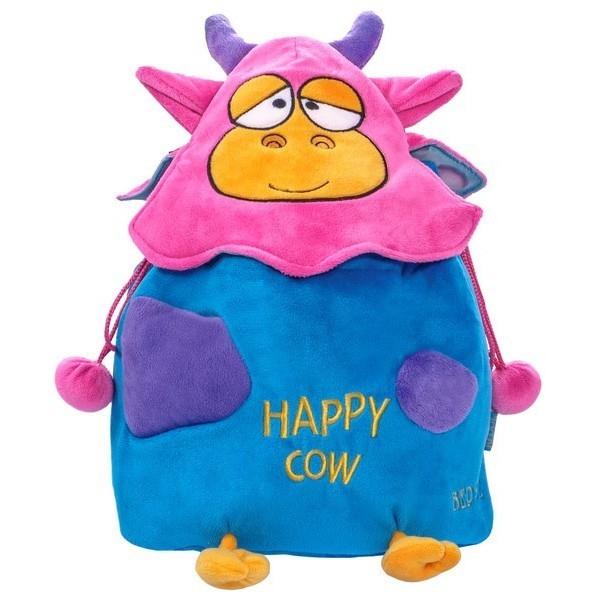 Happy Cow plecak niebieski