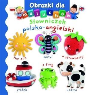 Obrazki dla maluchów. Słowniczek polsko-angielski - Emilie Beaumont, Nathalie Belineau - książka