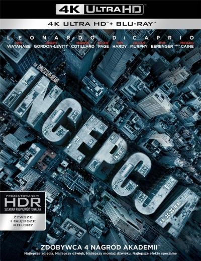 Incepcja (3 Blu-ray) 4K Christopher Nolan