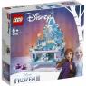 Lego Disney Princess: Szkatułka na biżuterie Elsy (Frozen 2) (41168)