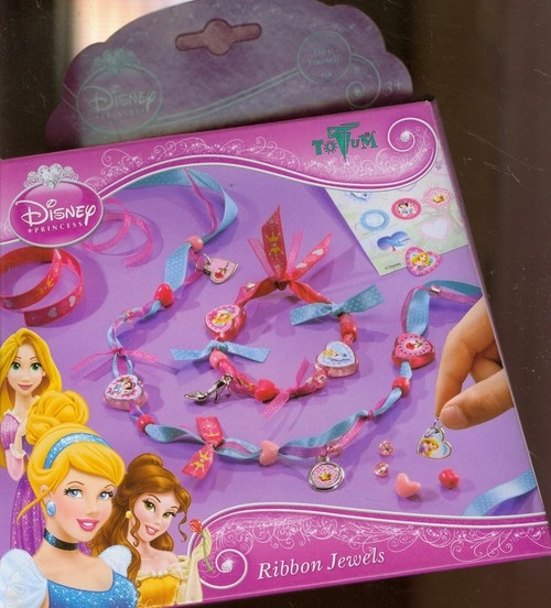 Disney Princess Ribbon Jewels