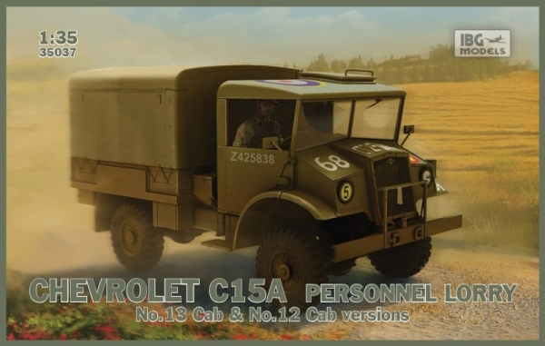 Chevrolet C15A Personnel Lorry no12