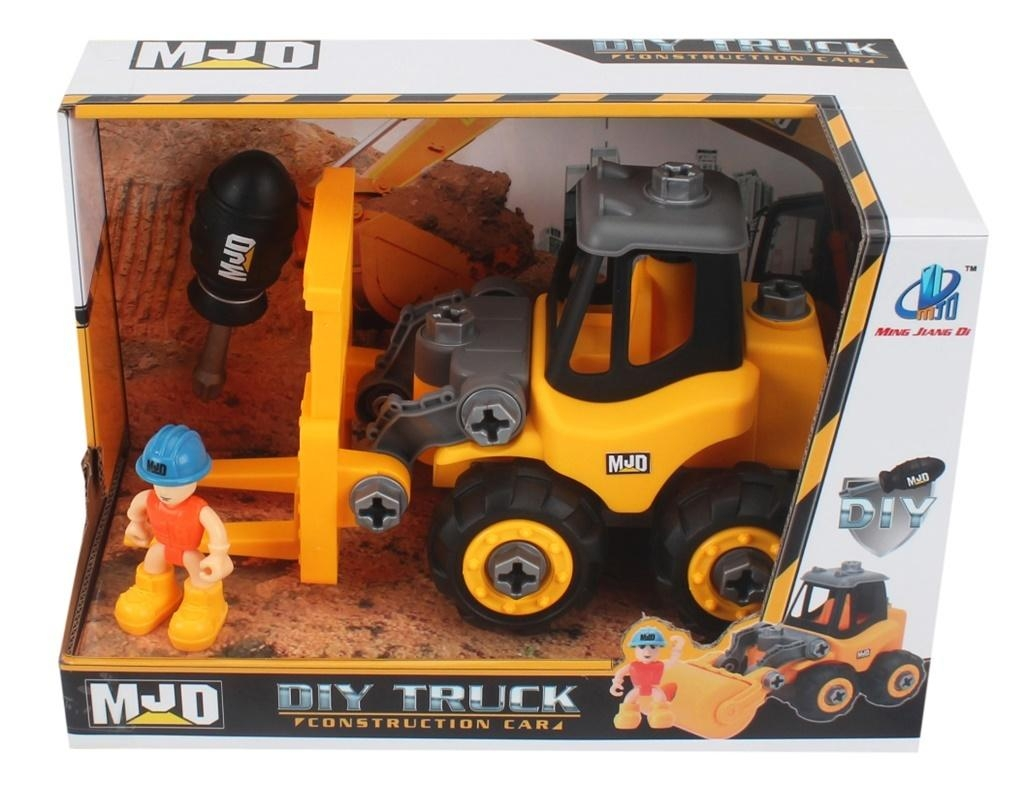 Pojazd budowlany do skręcania - wózek widłowy (110660)