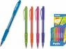 Długopis neon - niebieski (31660PTR) mix kolorów