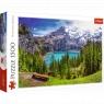 Puzzle 1500: Jezioro Oeschinen, Alpy, Szawajcaria (26166)