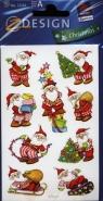 Naklejki świąteczne Z Design Christmas Mikołaj