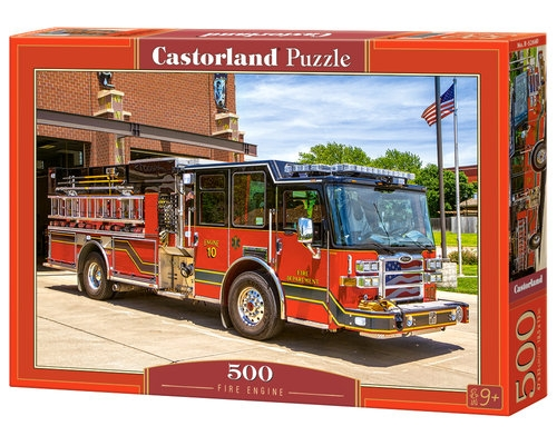 Puzzle Fire Engine 500 (B-52660)
