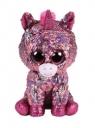Maskotka Beanie Boos Diamond - cekinowy różowy jednorożec (36266)