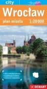 Wrocław. Plan miasta w skali 1:20 000 praca zbiorowa
