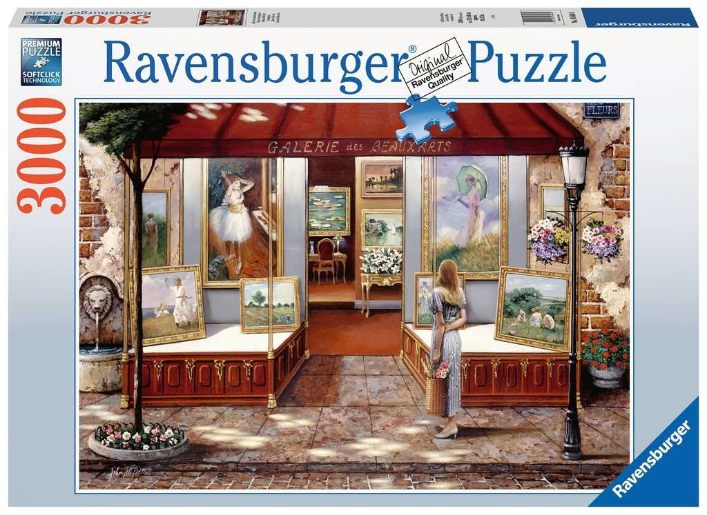 Puzzle 3000: Witryna galerii (16466)