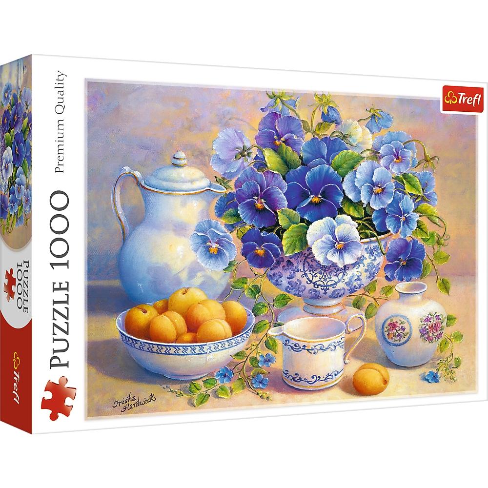 Puzzle 1000: Niebieski bukiet (10466)