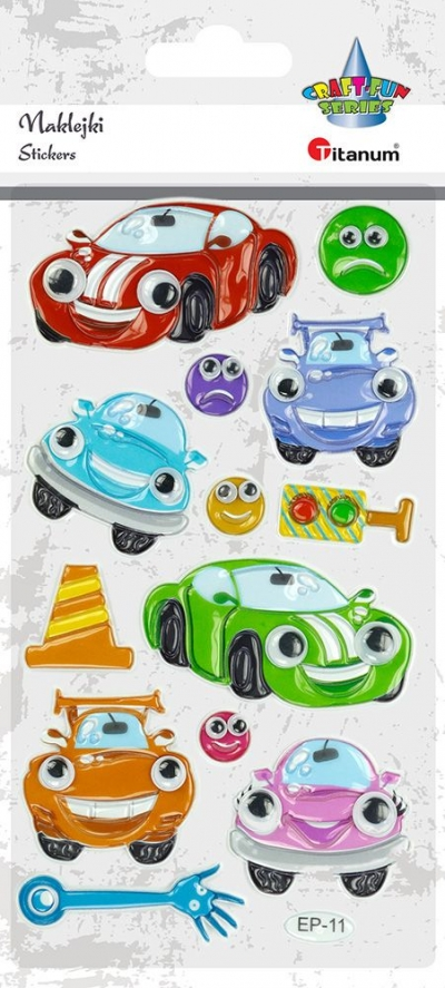 Naklejka (nalepka) Titanum Craft-Fun Series samochody (ep11)