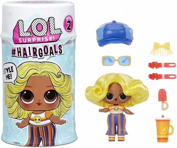Figurka L.O.L. Surprise Hairgoals Display 21 sztuk (572664EUC/display)