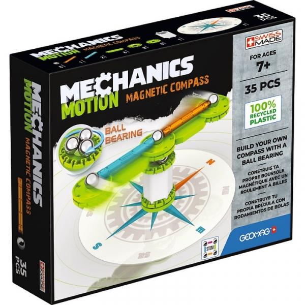 Klocki magnetyczne Mechanics Motion Kompas (G766)