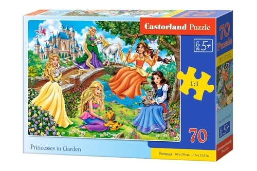 Puzzle Princesses in Garden 70 (B-070022)