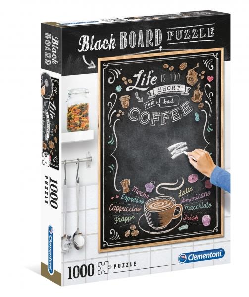 Puzzle 1000: Black Board - Coffee (39466)