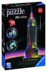 Puzzle 3D, 216: Empire State Building nocą (125661)Wiek: 12+