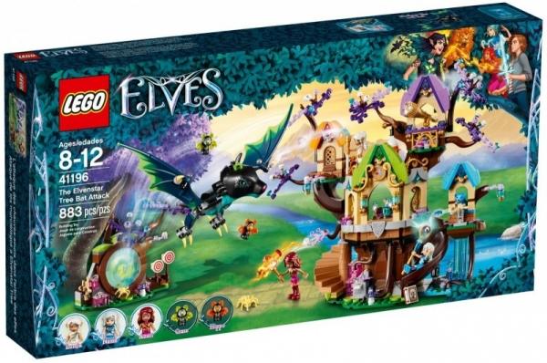 Lego Elves: Atak nietoperzy na Drzewo Elvenstar (41196)