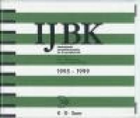 IJBK International Annual Bibliography 1995-1999