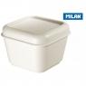 Śniadaniówka Milan 225 mm x 115 mm x 110 mm (085111W)
