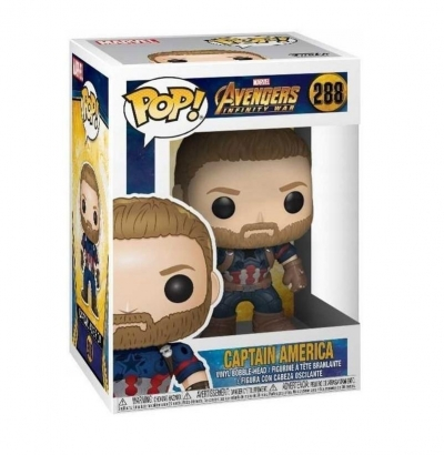 Figurka Funko Pop: Avengers - Captain America