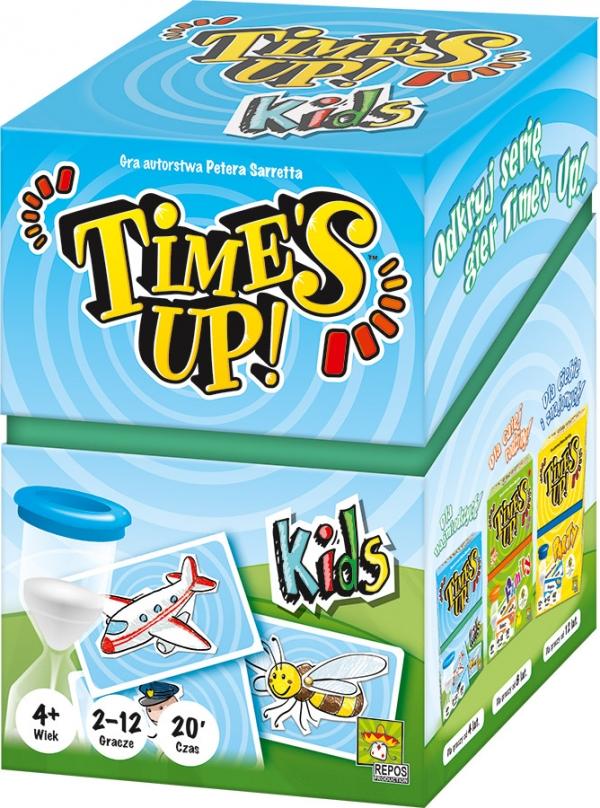 Time's Up! - Kids (nowa edycja) Peter Sarrett