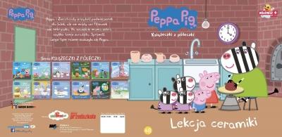 Świnka Peppa Książeczki z półeczki. Lekcja ceramiki. opracowanie zbiorowe