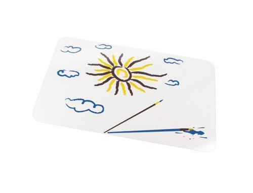 Podkładka ochronna do zajęć plastycznych - słońce