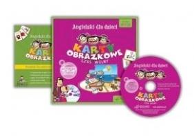 Angielski dla dzieci Karty obrazkowe Czas wolny + CD