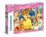 Puzzle SuperColor 60 Disney Princess Piękna i Bestia (26966)