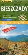 Mapa turystyczna - Bieszczady 1:50 000 praca zbiorowa