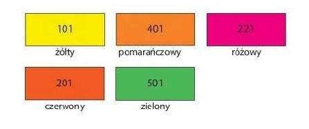 Farba akrylowa - fluo pomarańczowy 75ml (HA 7370 0075-401)