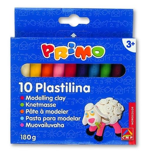 Plastelina Primo 10 kolorów 180 gram