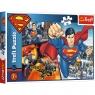 Puzzle 200: Superman - Bohater (13266) Wiek: 7+