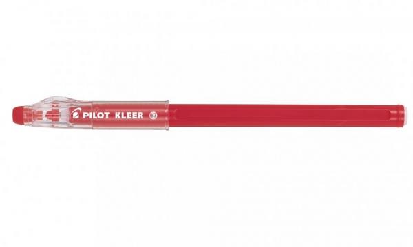 Długopis żelowy jednorazowy Pilot Kleer wymazywalny czerwony (BL-LFP7-R)