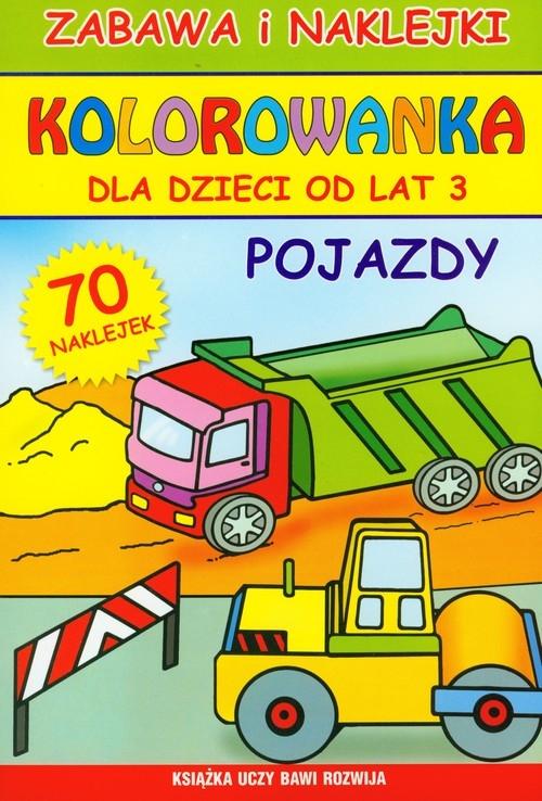Kolorowanka Pojazdy Guzowska Beata
