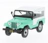 Jeep CJ-5 1963 (light green/white) (216291)