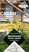 Małopolska. Kraków i okolice. Część zachodnia. Nie tylko Green Velo. Mapa tras rowerowych