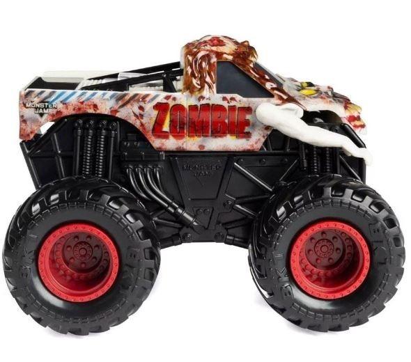 Auto 1:43 Warczące opony, zombie Monster Jam (6044990/20105418). od 3 lat