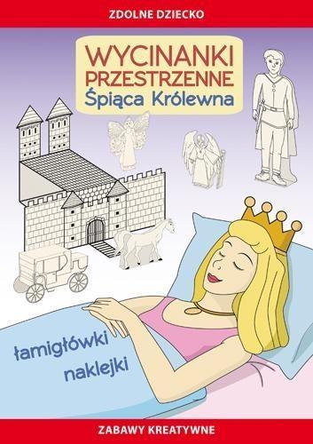 Wycinanki przestrzenne Śpiąca Królewna Guzowska Beata, Matwijow Michał
