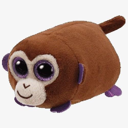 Maskotka Teeny Tys: Monkey Boo - brązowa małpka 10 cm (42166)
