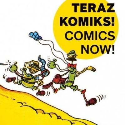 Teraz komiks! w. pol-ang praca zbiorowa