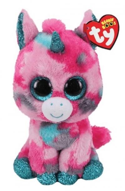 Beanie Boss Gumball - różowo-niebieski jednorożec 24cm