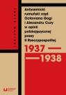 Antysemicki rumuński rząd Octaviana Gogi i Alexandru Cuzy w opinii Walicki Jacek