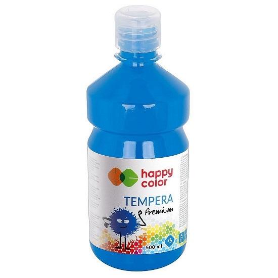 Farba tempera 500 ml - błękitna (347279)