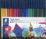 Flamastry szkolne Noris 20 kolorów