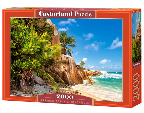 Puzzle Paradise Beach of Seychelles 2000 (C-200665)