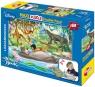 Puzzle dwustronne Maxi Księga Dżungli 108