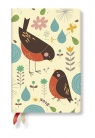 Kalendarz książkowy mini 2018 12M Mother Robin