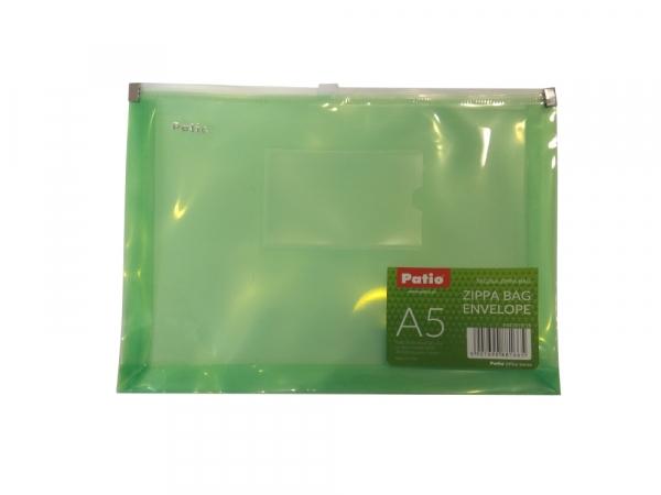 Teczka Zipper A5 - Zielona (PAT3119/15)